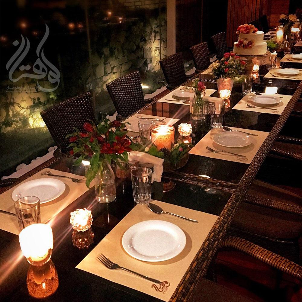 رستوران باغ کوهستان